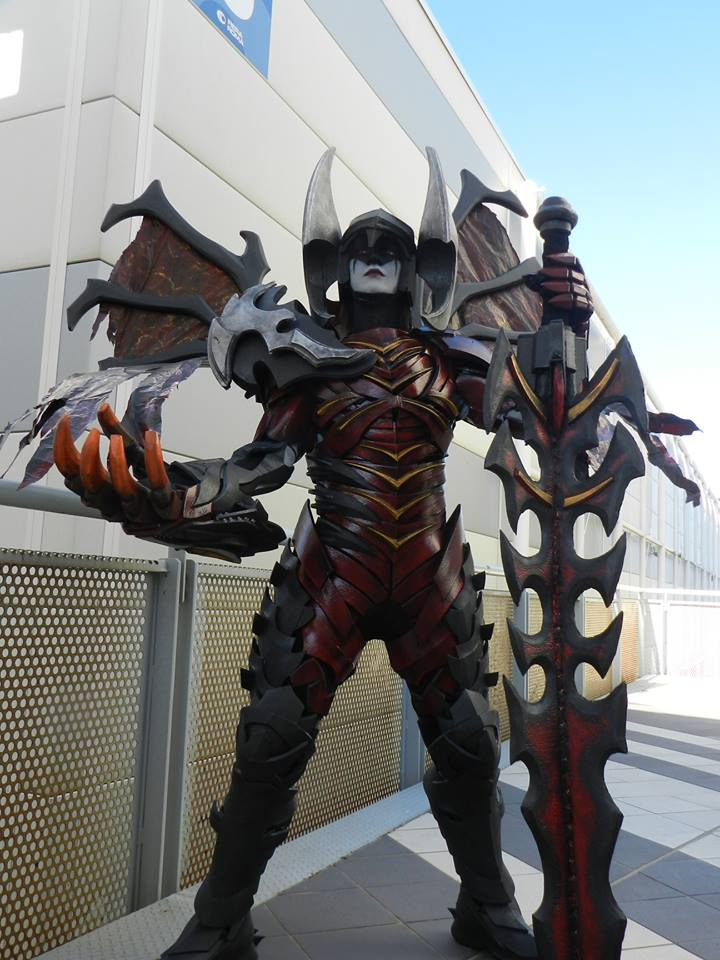 Aatrox League Of Legends Cosplay  ArtofLoL