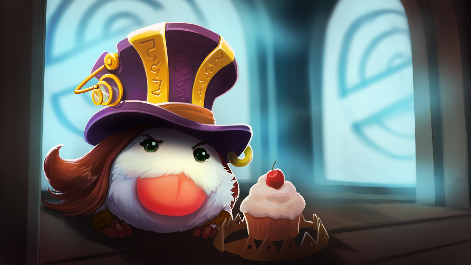 Draven And Girls Wallpaper Caitlyn Poro Wallpapers Hd League Of Legends Wallpapers