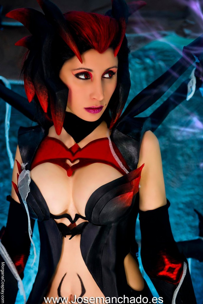 Draven And Girls Wallpaper Elise League Of Legends Cosplay Art Of Lol