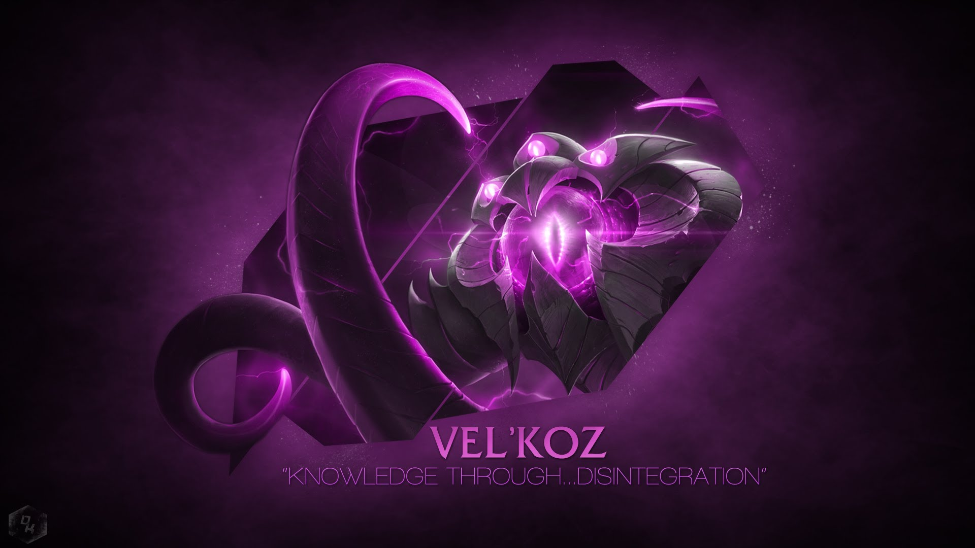 VelKoz League Of Legends Wallpaper 1920x1080 League Of