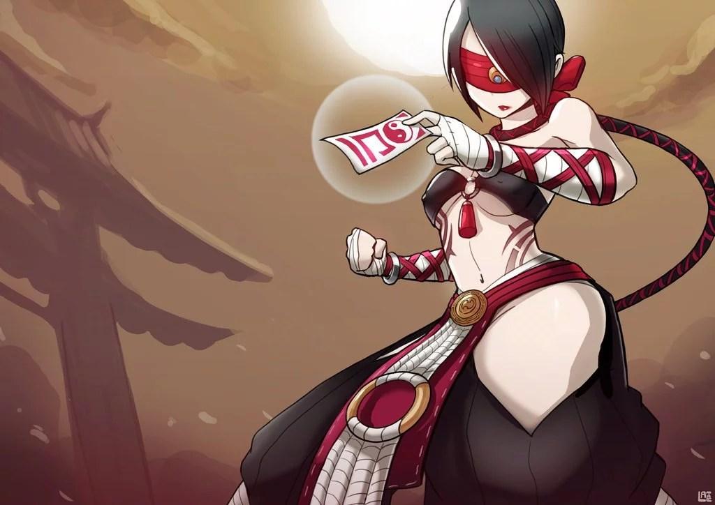 Anime Girl Wallpaper Hd Chubby Female Lee Sin League Of Legends Fan Art League Of Legends