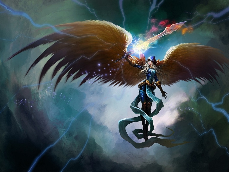 Kayle League Of Legends Fan Art Art Of LoL