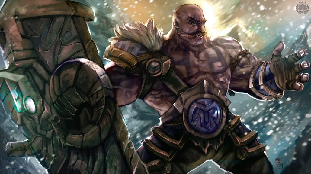 Gangplank Wallpaper Hd Braum League Of Legends Wallpapers Hd 1920 215 1080 League Of