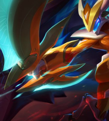 Nocturne Wallpaper Hd Kindred League Of Legends Fan Art 1 League Of Legends Fan