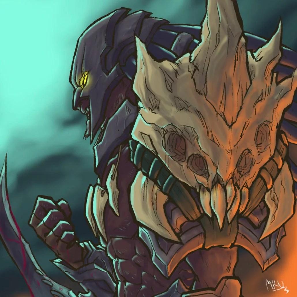 Headhunter Rengar League Of Legends Fan Art Art Of LoL