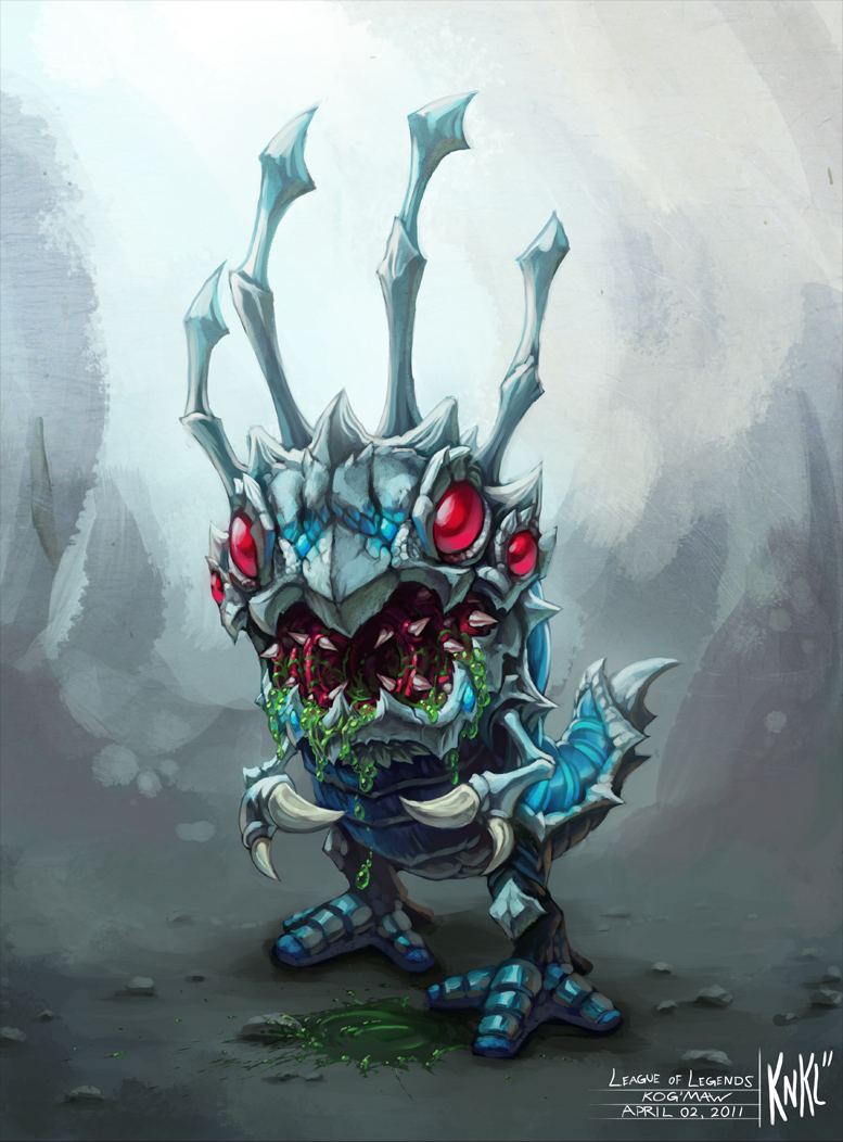 Cute Olaf Wallpapers Kog Maw League Of Legends Fan Art Art Of Lol