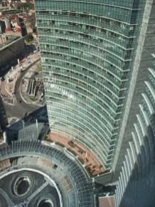 Milano- dall'alto Unicredit con vista su P.zza Gae Aulenti