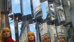 Milano-vetrine in Via Torino