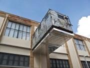 Nicosia Un'installazione nella parte vecchia della città ristrutturata