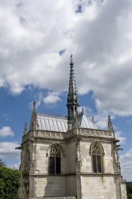 La Cappella di Saint Hubert che custodisce le spoglie di Leonardo da Vinci