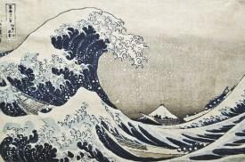 Hokusai, Grande onda