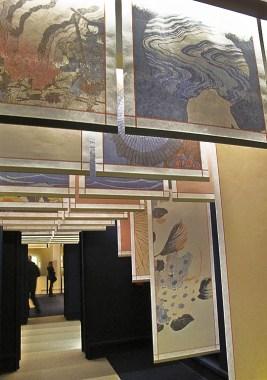 Corridoio di accesso alla mostra
