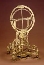 Strumento di astronomia in bronzo dorato, Dinastia Qing