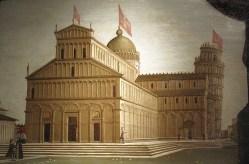 Pietro Ciafferi, veduta del Duomo di Pisa