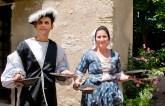 Accoglienza nel castello di Clos Lucä