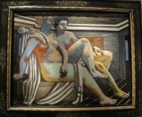 Giorgio De Chirico, Due figure mitologiche, 1927
