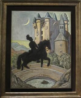 Giorgio De Chirico, Ritorno al Castello, 1969