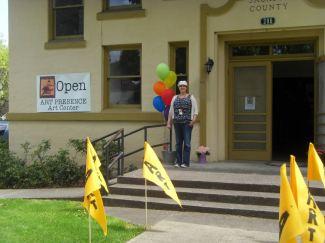 First member show at the Art Presence Art Center