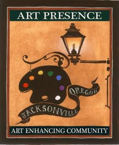 Art Presence logo - tagged