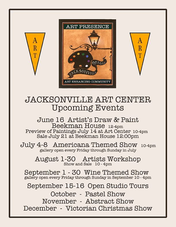 Art Presence Jacksonville Art Center Upcoming Events