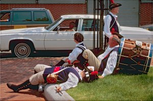Pooped Patriots, Image by Thomas Glassman