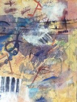 """""""Jazzz"""" Tryptych by Linda Curtis (#3)"""