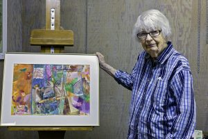Elaine Witteveen, jacksonville, oregon artist and founder of the Artists Workshop