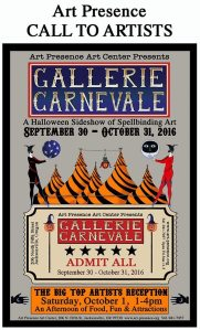 Gallerie Carnevale Invitational Show @ Art Presence Art Center | Jacksonville | Oregon | United States