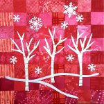 Small Treasures 2016 : Untitled Holiday art by Linda Dunn