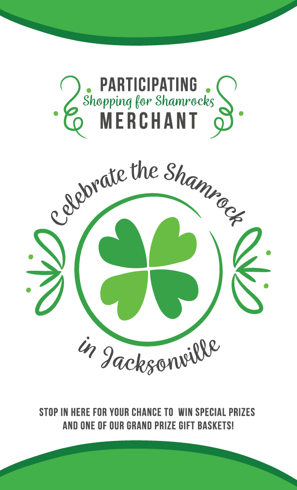 Celebrate the Shamrock at Art Presence Art Center in Jacksonville, OR on March 17 from noon to 7 pm! enter to win a basket filled with locally created art valued at $300!!