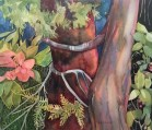 Watercolor painting by Anne Brooke - Summer Daze July 2020 members exhibit