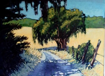 andre satie - hot country road - Summer Daze July 2020 members exhibit