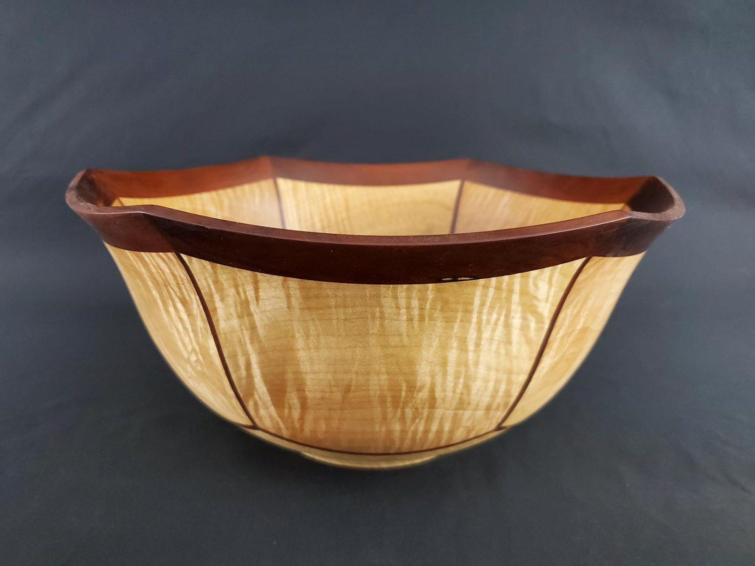 March 2021 Exhibits and Virtual Tour - Handcrafted wooden vessel by John Harden