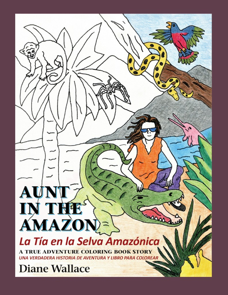 Aunt in the Amazon, author reading by Diane Wallace at 5pm on Friday, May 14