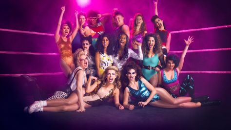 The cast van Netflix' GLOW