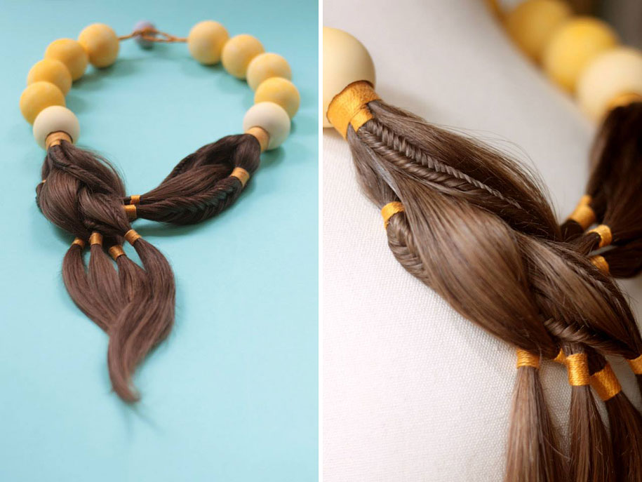 Stunning Jewellery Made Of Hair From Women Undergoing