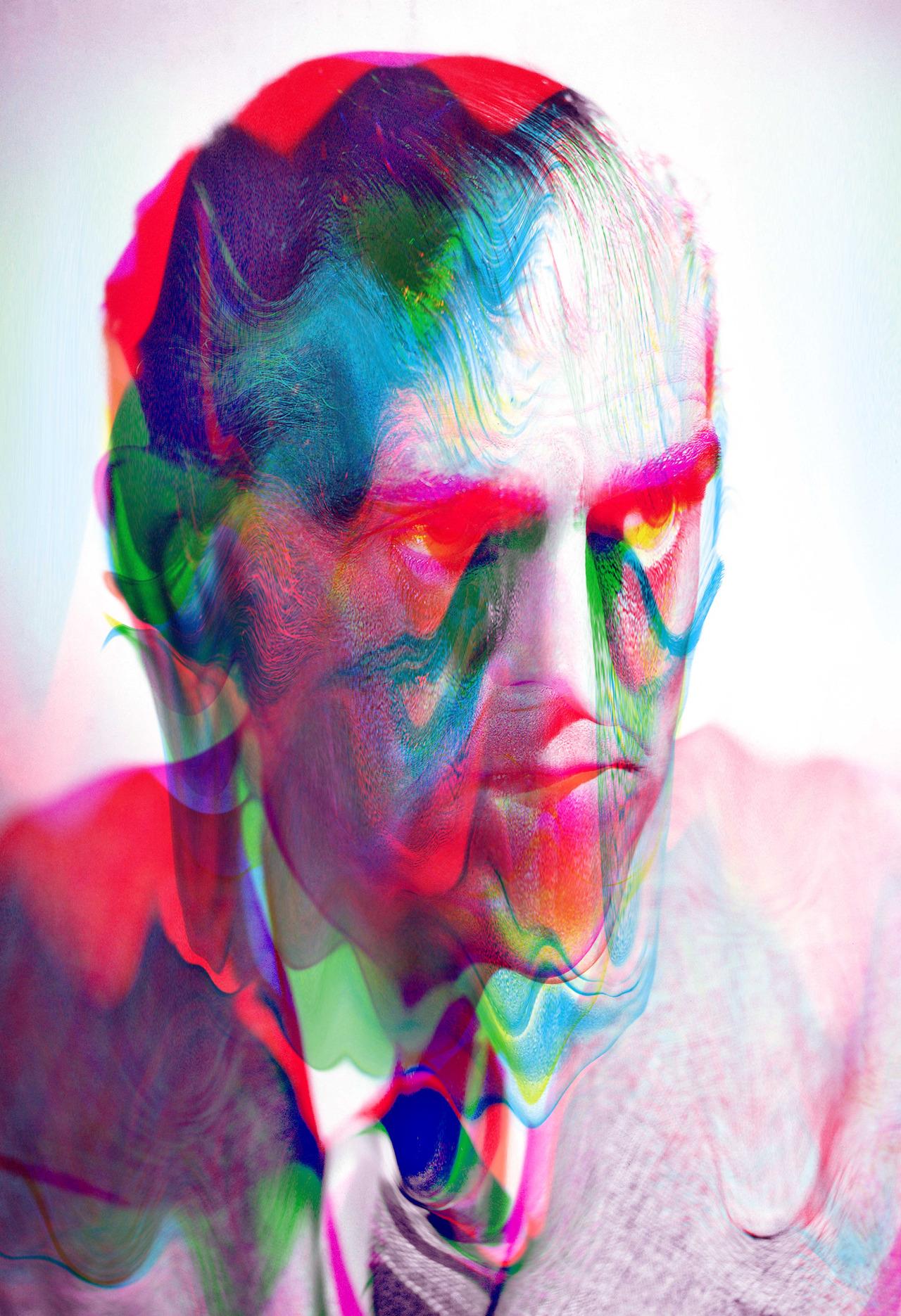 The Psychedelic Digital Portraits Of Tyler Spangler  ArtSheep
