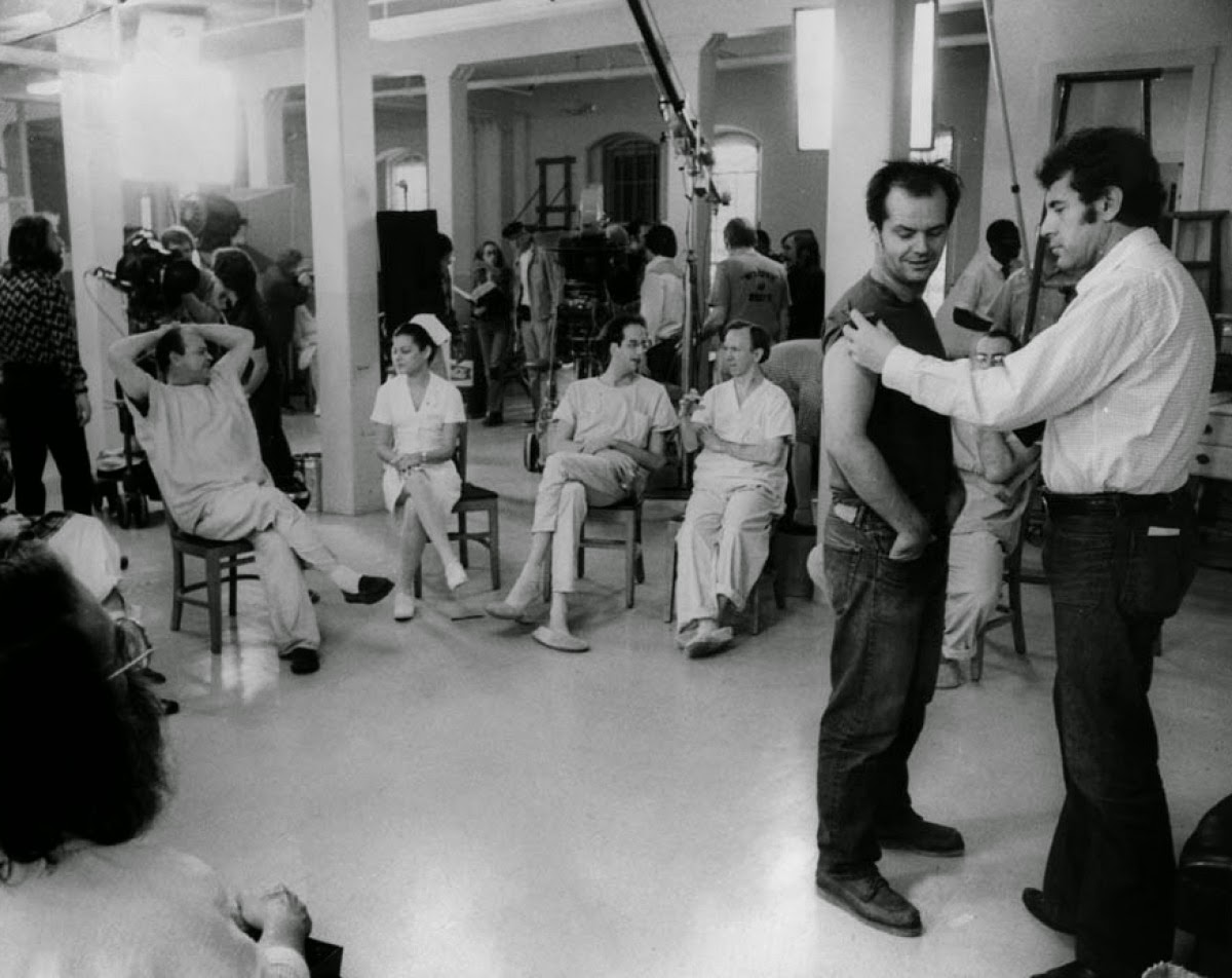 Rare Backstage Photos From One Flew Over The Cuckoo S