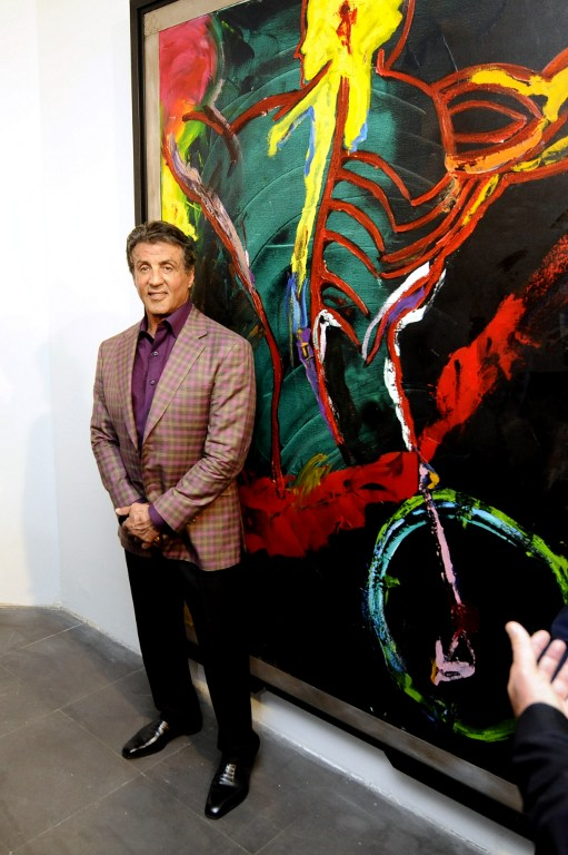 Sylvester Stallone Visits Cannes For The Opening Of His