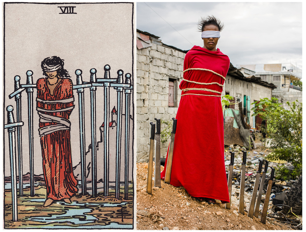 Photographer Creates Real Life Tarot Cards With The Help