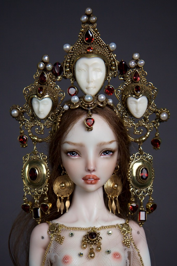 """Enchanted Doll"": Ethereal Realistic Luxury Dolls By Marina Bychkova   Art-Sheep"