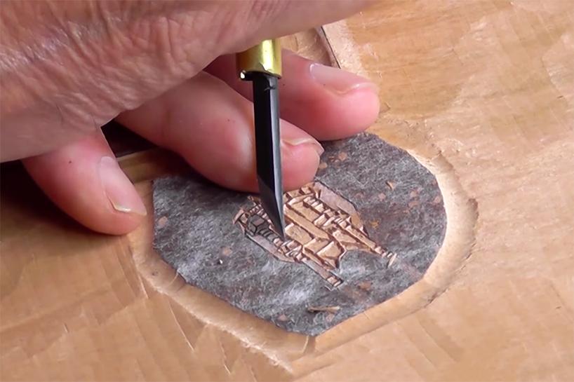 Traditional Japanese Woodblock Printing Meets Star Wars In
