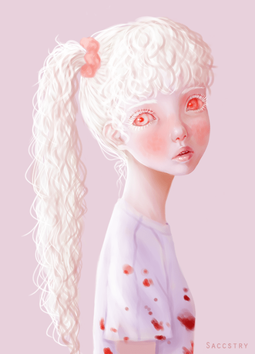 Cute Makeup Wallpaper Art Sheep Features The Beautifully Macabre Imagery Of