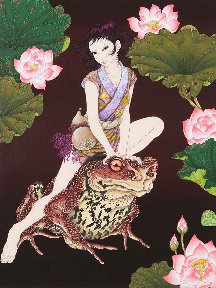 Yuji Moriguchi Erotic Imagery Combines Manga with