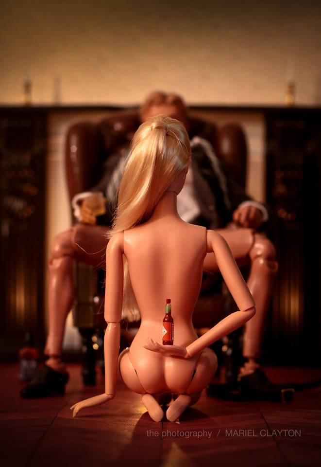 Mariel Clayton Photographs The Dark Side of Barbie Dolls