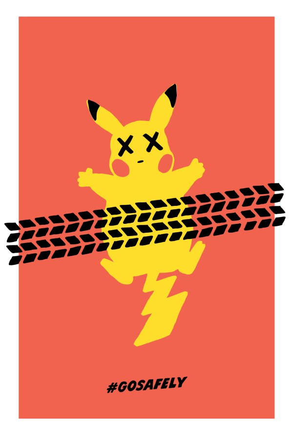 Pokmon Road Kill Project Safety Signs Users