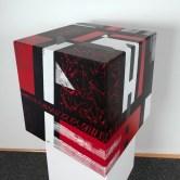 cube 40 I, acryl auf mdf-holz, 40x40x40cm, 2014