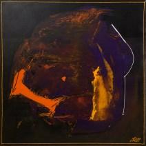land where the shadows lie, acryl auf leinen, 60x60cm, 2013