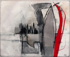 paradigmenwechsel I, acryl auf leinen, 50x60cm, 2012