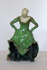 Keramik skulpturer udstillet i gallery ArtTour